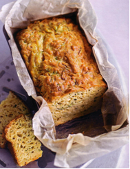 Courgette and cheese loaf